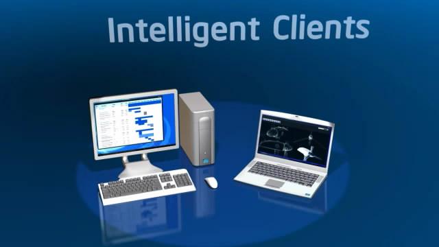 Intelligent Clients in the Cloud
