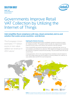 The Internet of Things Securely Enhances Retail Fiscal Compliance