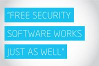 """Free security software works just as well"""