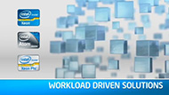 Workload-Driven Data Center Solutions