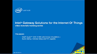 Video: Intel® Gateway Solutions for the IoT Quick Setup