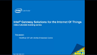 Video: Intel® Gateway Solutions for the IoT IDP with McAfee
